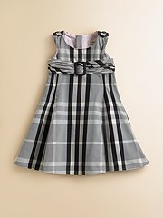 Amelia Plaid Jumper Dress