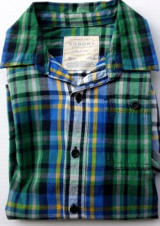 Rugby Green Plaid
