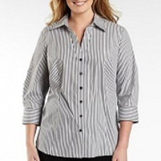 Velcro Closing Women's Custom Blouses